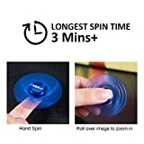 AMASKY Fidget Spinner,EDC Toy,Ultra Durable Stainless Steel Bearing, High Speed Spins, Focus on Anxiety Stress Relief Boredom Killing Time Toys.(Blue)