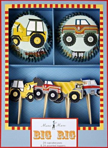 Meri Meri Big Rig Cupcake Kit, Health Care Stuffs