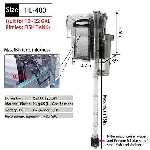 Buy hang on aquarium filter