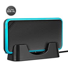 New Nintendo 2DS XL Charging Stand- Younik Charging Dock with USB Charging Cable for Nintendo New 2DS XL 2017