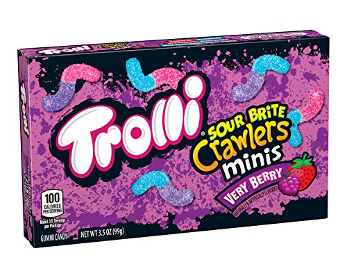 Trolli Sour Brite Crawlers Gummy Candy