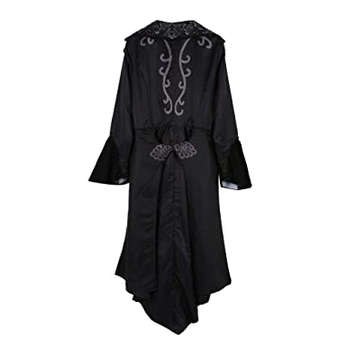 6573071816e Court Coat Women Steampunk Gothic Long Velvet Medieval Jacket Vintage Lapel  Coat Outerwear