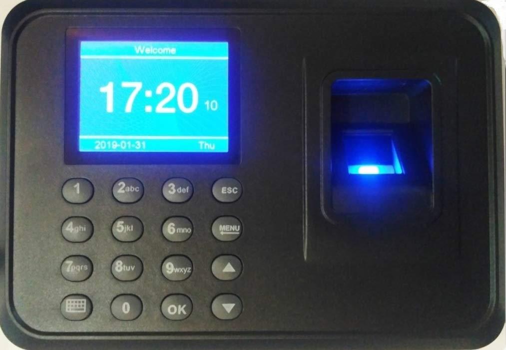 ZAICUS A6 2 4 Inch Colour TFT Screen Biometric Fingerprint Time Attendance  Machine