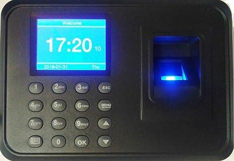 ZAICUS A6 2 4 inch Color TFT Screen Biometric Fingerprint Time Attendance  Machine (1 Year Warranty)