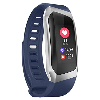 VECDY Smartwatch, E18 Pulsera Presión Arterial Reloj Oxígeno ...