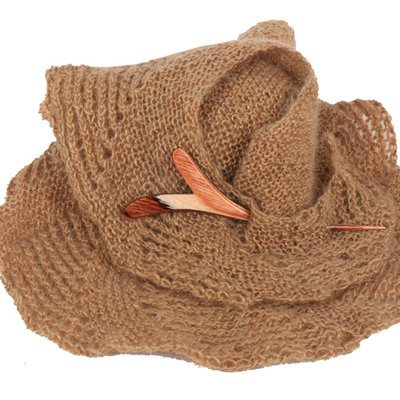 Knitter's Pride KP500257 Flora Shawl Stick-Twig-Brown by Knitter's Pride (Image #2)