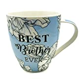 Hampstead Collection Best Brother Ever Mug 18oz with Gift Box Packaging
