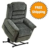 Catnapper Power Lift Full Lay-Out Recliner with Deluxe Heat &...