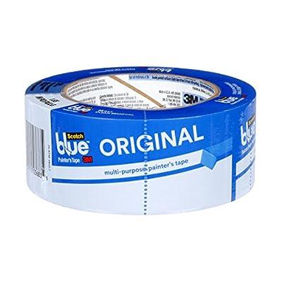 ScotchBlue Original Multi-Surface Painter's Tape, 1.88 inch x 60 yard, 2090, 1 Roll