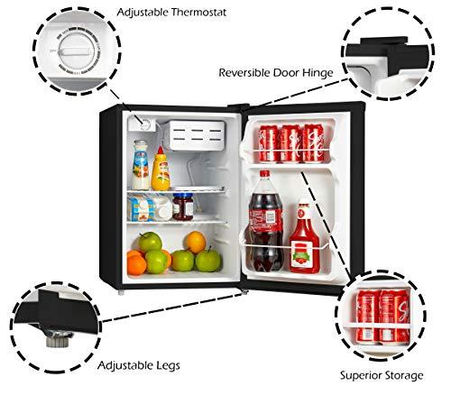 Emerson Foot Refrigerator Black
