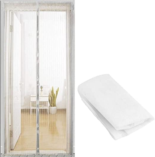 Anti Mosquito Magnetic Mesh Curtains Automatic Closing Insects Net Door Screen