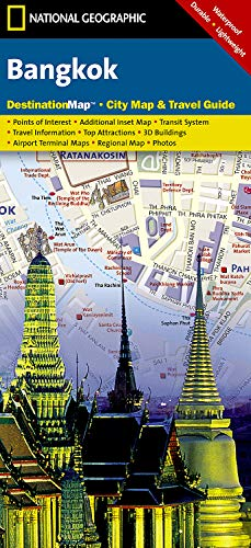 Bangkok (National Geographic Destination City Map) (Bangkok Map)