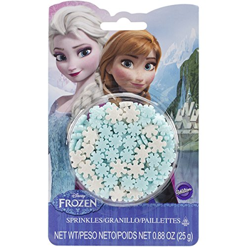 Wilton Frozen Sprinkles (Snowflake Cake Decorations)