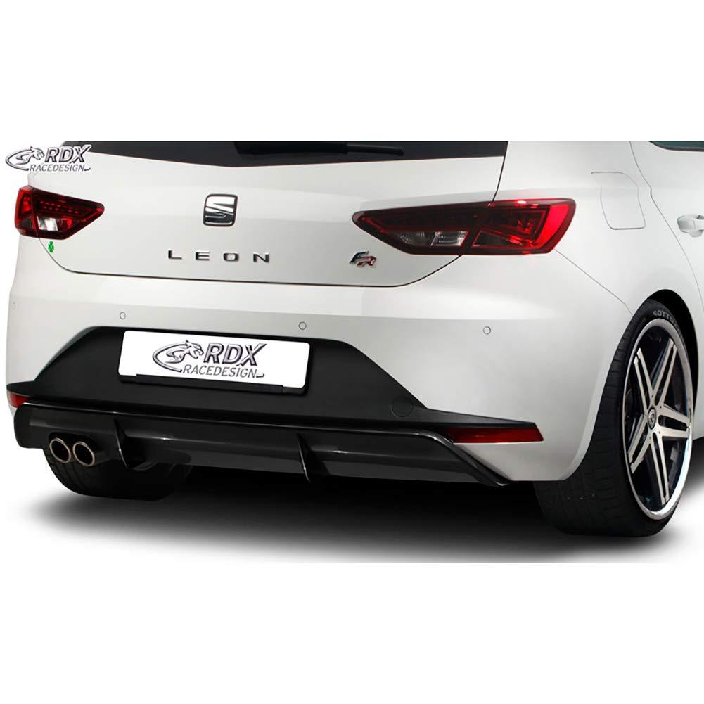 RDX Racedesign RDHA068 - Falda de parachoques trasero para Seat Leon 5F FR SC/5 puertas 2013-Excl. ST/Cupra (Abs Glossy), color negro: Amazon.es: Coche y ...