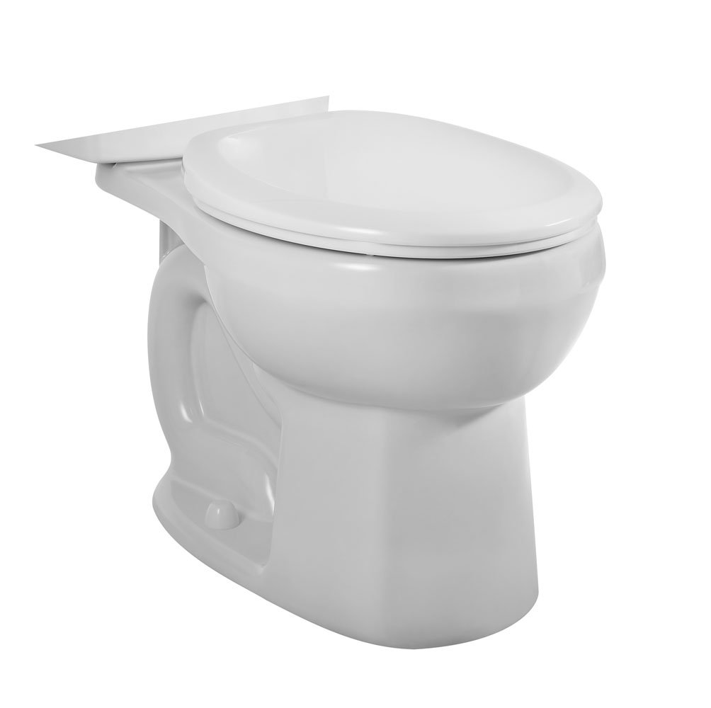 American Standard 3708.216.020 H2Option Siphonic Dual Flush Round Front Toilet Bowl, White (Bowl Only)