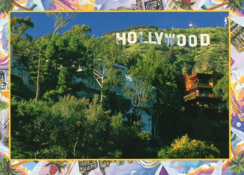 HOLLYWOOD POSTCARD C100 - From Hibiscus Express