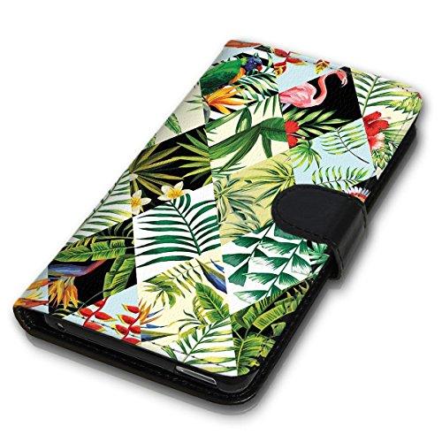 Wallet Book Style Flip Handy Tasche Case Schutz Hülle Schale Motiv Etui für Apple iPhone 6 Plus / 6S Plus - Design Flip MVD129