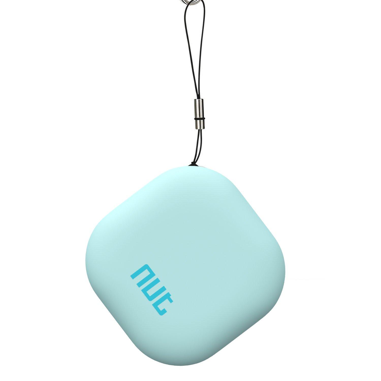 Wireless Bluetooth Tracker Nut Tracker Smart Key Finder Keychain Locator,anti-lost GPS Tracker Device for Kids,Pets,Car,Women,Men-Mint Green by GAKUS