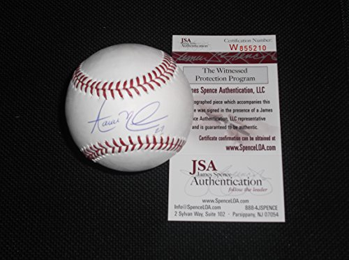 Aaron Nola Philadelphia Phillies Autographed Signed Official Major League Baseball JSA WITNESS COA