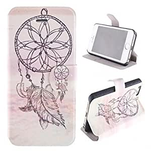 TOPMM ships in 48 hours Windbell Pattern PU Full Body Case with Card Slot and Stand for iPhone 5/5S