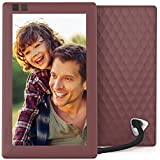 Nixplay Seed 7 Inch WiFi Cloud Digital Photo Frame with IPS Display, iPhone & Android App, Free 10GB Online Storage and Motion Sensor (Mulberry)