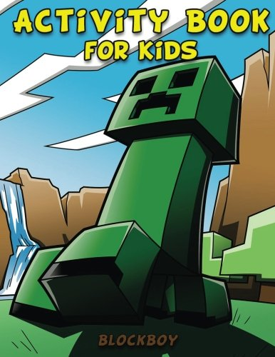 Activity Book for Kids: Fun Minecraft Activity Pages - Coloring Pages, Dot-to-Dots, Puzzles & More!