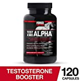Test X180 Alpha Free Testosterone Booster to Increase Libido, Build Lean Muscle, Boost Stamina, Improve Sexual...