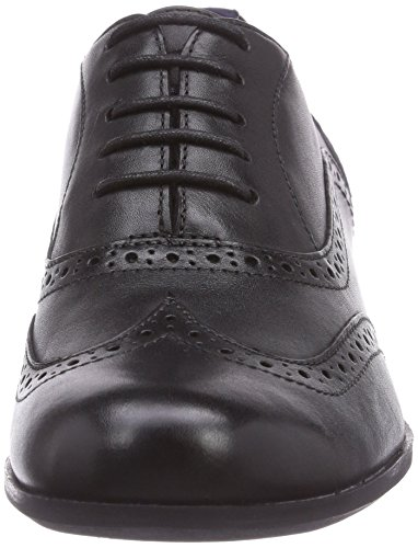 Oak Brogues Clarks Femme Leather Noir Hamble black 5qxxCwHnfZ