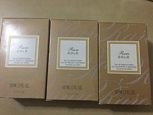 Rare Gold Parfum Spray lot of 3