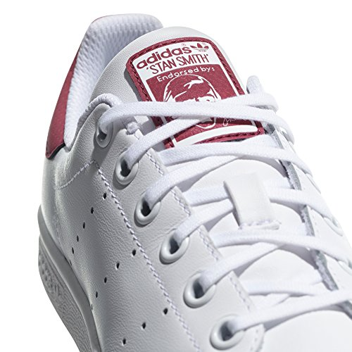 Rose Ginnastica Originals Sneaker Bianca Basket White Tennis Stan Scarpe Donna adidas Smith qpdAq1