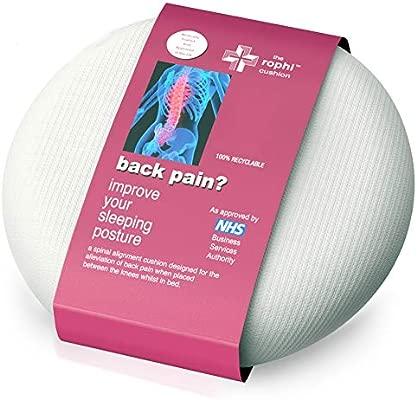 Cojin para rodillas para aliviar ciatica y el dolor lumbar | Almohada ciatica, Almohada dolor cadera, Almohada dormir alivio ciatica | Cojín para de ...