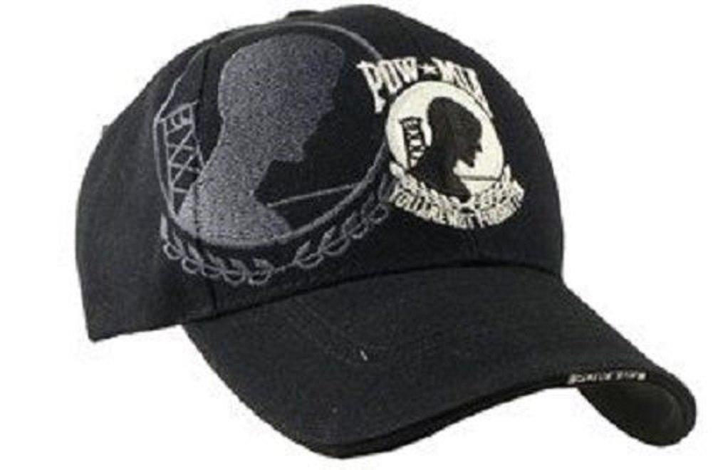 刺繍USA Pow Mia POWMIA Pow Mia戦争の囚人の影野球スタイルキャップ帽子   B00CH3LAZC