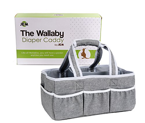 wallaby diaper caddy portable storage
