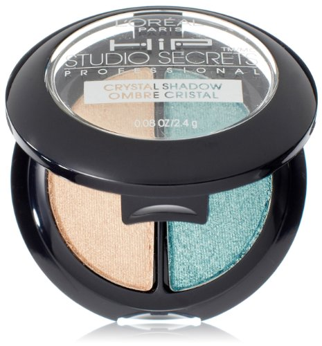 L'Orea Paris HiP Studio Secrets Professional Crystal Eye Shadow Duos, Mystical, 0.08 (Mystical Crystal)
