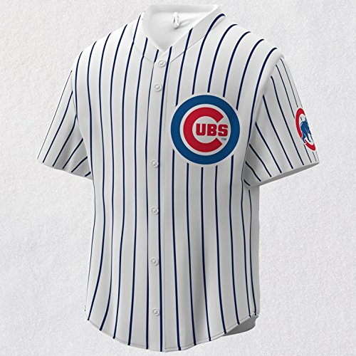 (Hallmark MLB Chicago Cubs Jersey Keepsake Christmas Ornaments)