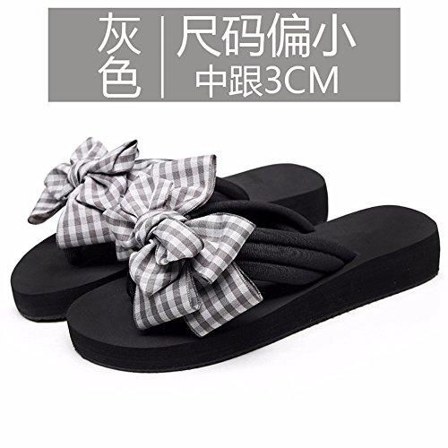 sweet antideslizante arco exterior flip moda sandalias playa clip FLYRCX zapatillas Señoras en verano de i flops 0q4US