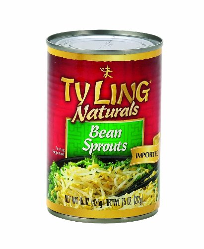 Tyling Bean Sprouts, 15-Ounce (Pack of 24) (Ty Ling Fortune Cookies)