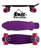 Kobe 40-32003 Purple Penny Skate with Pink Wheels, 22-Inch