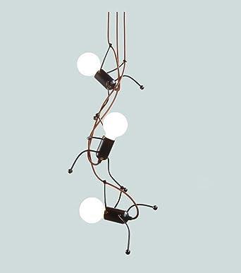 Conception Fer Dessin Le Suspendue Des Chambre Gens Suspension 3 Lampe Animé Moderne Élégant Pour Gamins Charmant Créatif Enfants 8n0mNw