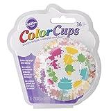 Wilton 415-0625 36-Pack Color Baking Cup, Standard, Paint Rainbow