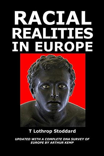 Book cover from Racial Realities in Europe by T Lothrop Stoddard