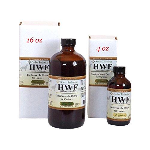 Amber Technology HWF - Cardiovascular Detox for Canines (4 oz)
