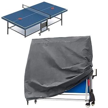 Etance - Funda para mesa de ping pong, plegable, antipolvo ...