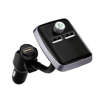 Aomili BT20 3 - Transmisor FM para Coche, Bluetooth ...