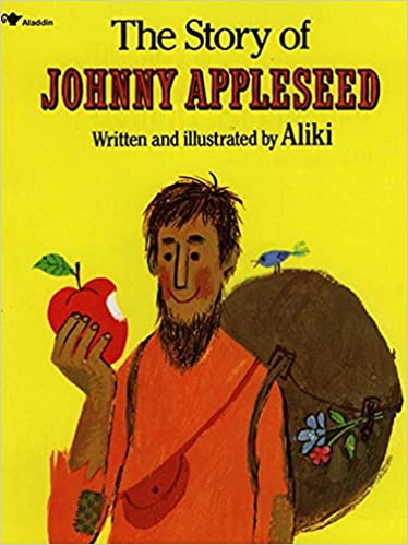 Counting Number worksheets johnny appleseed worksheets for 2nd grade : The Story of Johnny Appleseed: Aliki: 9780671667467: Amazon.com: Books