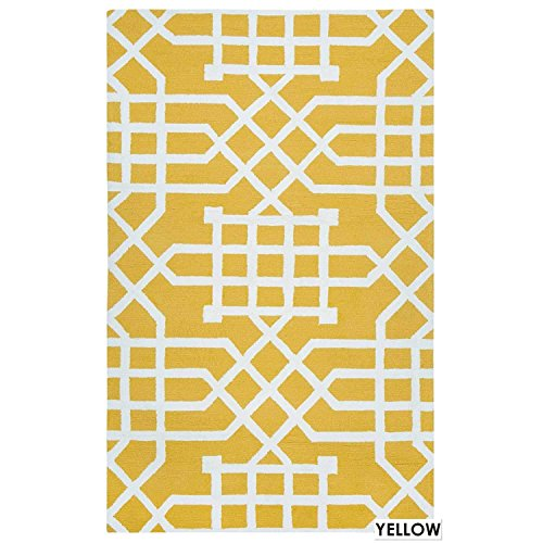 Rizzy Home Azzura Hill Collection Hand-Tufted Area Rug, 3'6