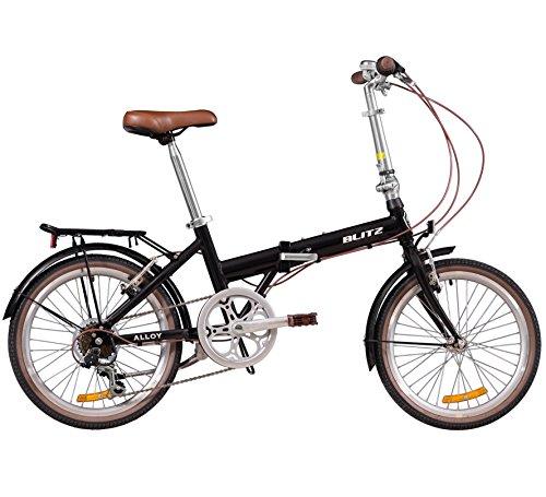 Cheap Blitz Alloy Folding Bike – Black