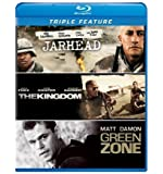 Jarhead / The Kingdom / Green Zone Triple Feature [Blu-ray] by Universal Studios by Peter Berg, Sam Mendes Paul Greengrass
