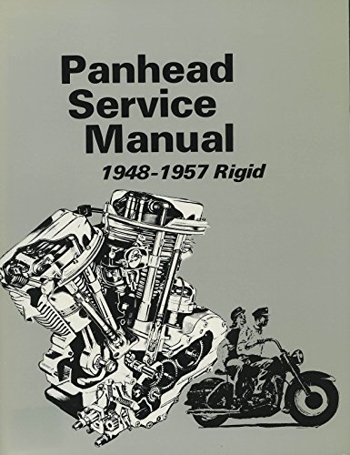 Used, Harley-Davidson Panhead Service Manual 1948-1957 Rigid for sale  Delivered anywhere in USA