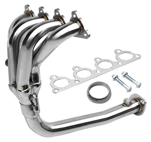 DNA MOTORING HDS-HC88-41 Stainless Steel 4-2-1 Exhaust Header for Honda D-Series